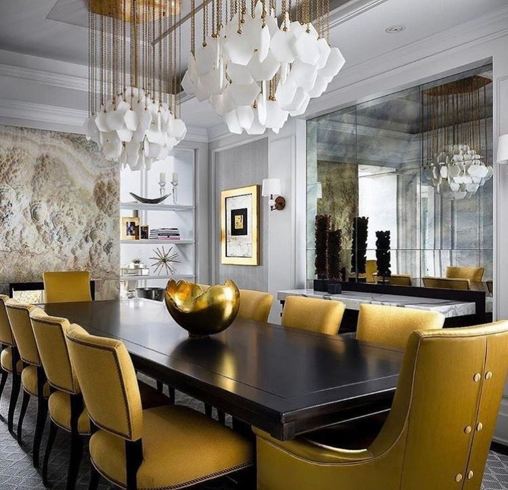 Awesome Traditional Dining Room Design Ideas: 20+ Spectacular Lighting Design Ideas For Awesome Dining