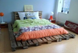 Unordinary Recycled Pallet Bed Frame Ideas To Make It Yourself13