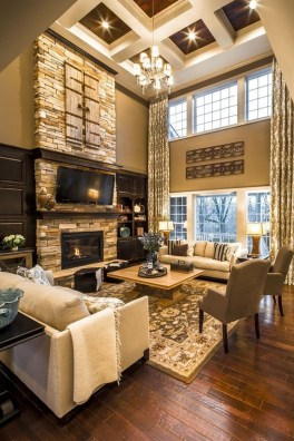 Unusual Ceiling Designs Ideas For Living Rooms32