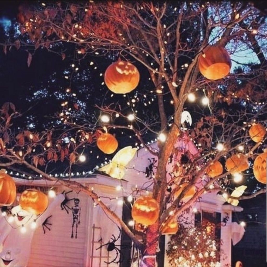 Amazing Outdoor Halloween Decorations Ideas For This Year13