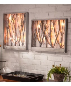 Attractive Lighting Wall Art Ideas For Your Home This Season37