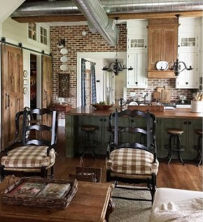 Beautiful Farmhouse Kitchen Décor And Remodel Ideas For You35