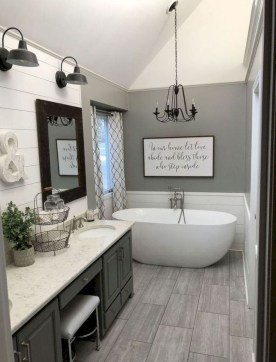 Best Master Bathroom Decor Ideas To Try Asap41