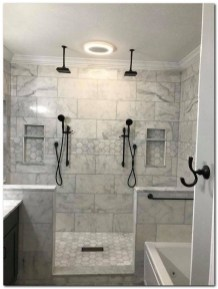 Best Master Bathroom Shower Remodel Ideas To Try33