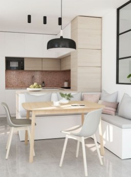 Charming Small Apartment Ideas For Space Saving22