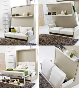 Charming Small Apartment Ideas For Space Saving26