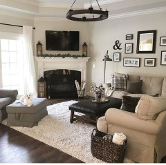 Comfy Living Room Decor Ideas To Make Anyone Feel Right At Home21