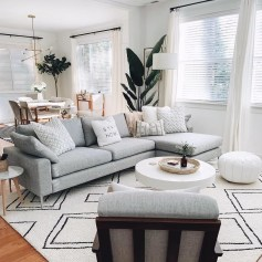 Comfy Living Room Decor Ideas To Make Anyone Feel Right At Home34