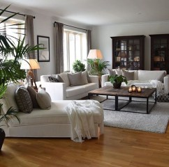 Comfy Living Room Decor Ideas To Make Anyone Feel Right At Home38
