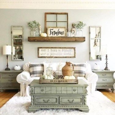Cool Farmhouse Living Room Decor Ideas You Must Have21