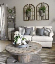 Cool Farmhouse Living Room Decor Ideas You Must Have33