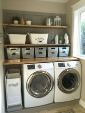 Cute Laundry Room Storage Shelves Ideas To Consider04