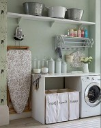 Cute Laundry Room Storage Shelves Ideas To Consider22