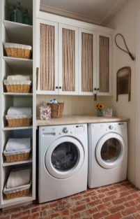 Cute Laundry Room Storage Shelves Ideas To Consider31