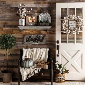 Excellent Fall Decorating Ideas For Home With Farmhouse Style02