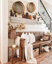 Excellent Fall Decorating Ideas For Home With Farmhouse Style07
