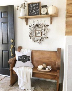 Excellent Fall Decorating Ideas For Home With Farmhouse Style43