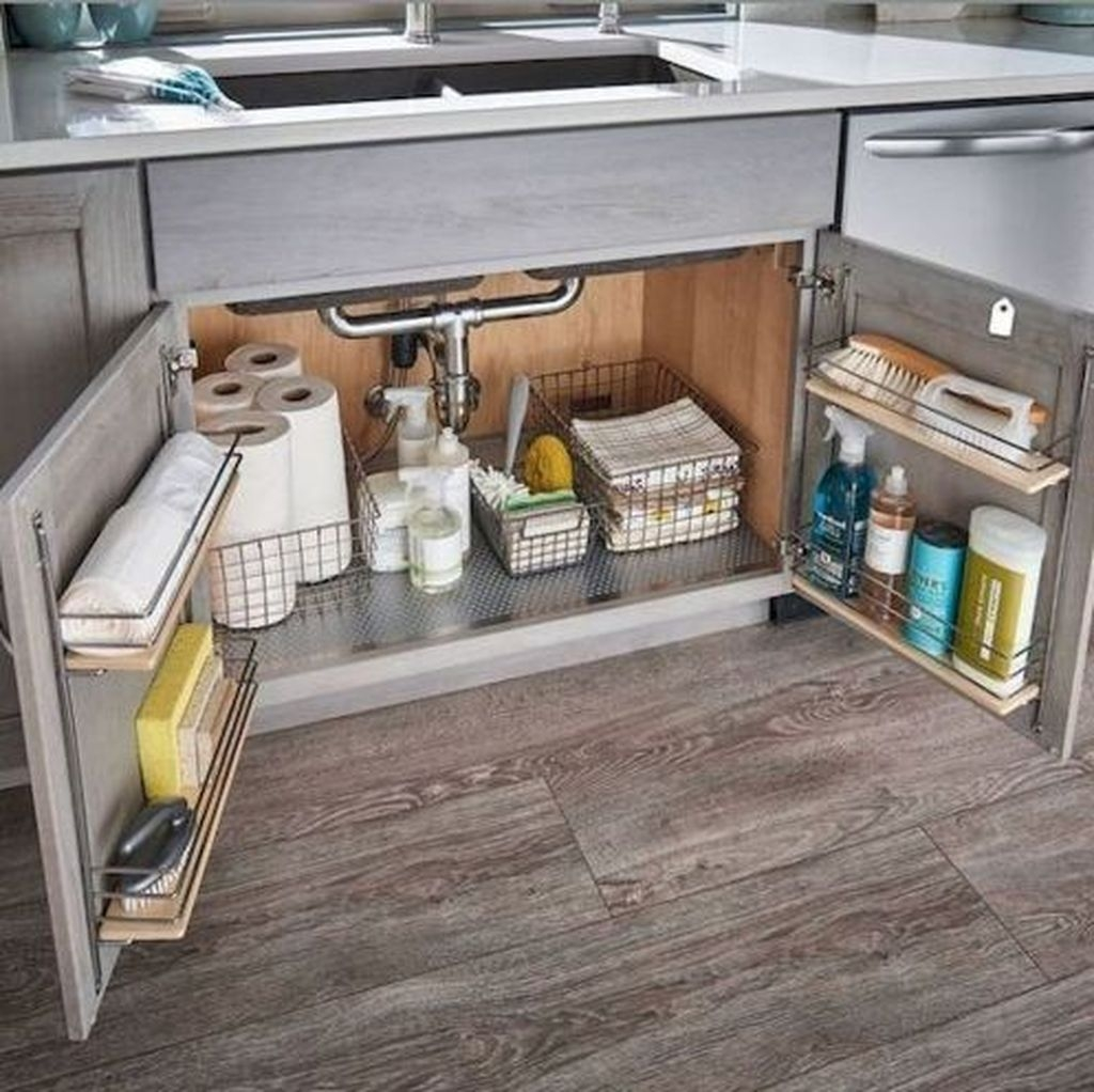 Glamour Kitchen Organization Decor Ideas To Try Right Now36