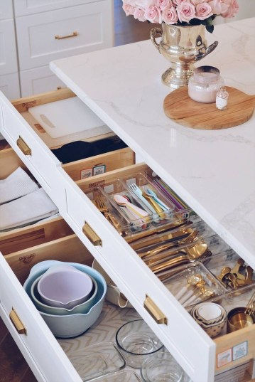 Glamour Kitchen Organization Decor Ideas To Try Right Now47