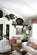 Gorgeous Country Farmhouse Decor Ideas For Living Room03