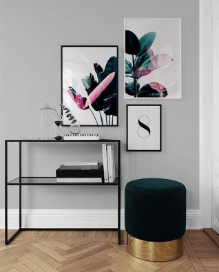 Impressive Minimalist Wall Art Decoration Ideas To Copy Right Now25