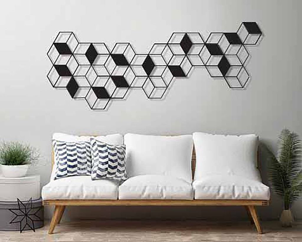 Impressive Minimalist Wall Art Decoration Ideas To Copy Right Now26