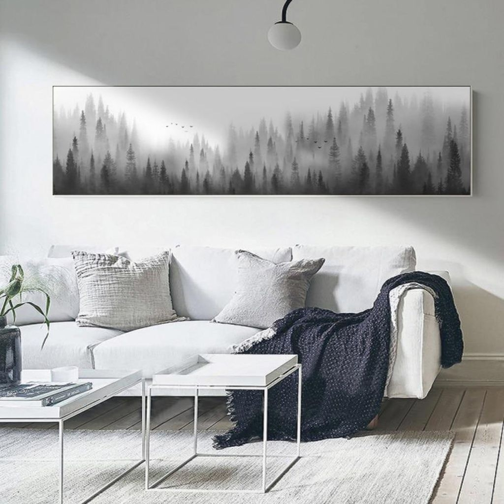 Impressive Minimalist Wall Art Decoration Ideas To Copy Right Now31