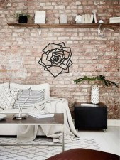Impressive Minimalist Wall Art Decoration Ideas To Copy Right Now37