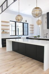Incredible Black And White Kitchen Ideas To Try23