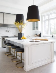 Incredible Black And White Kitchen Ideas To Try35