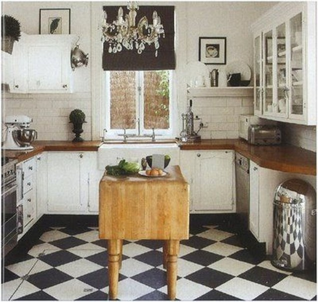 Incredible Black And White Kitchen Ideas To Try41