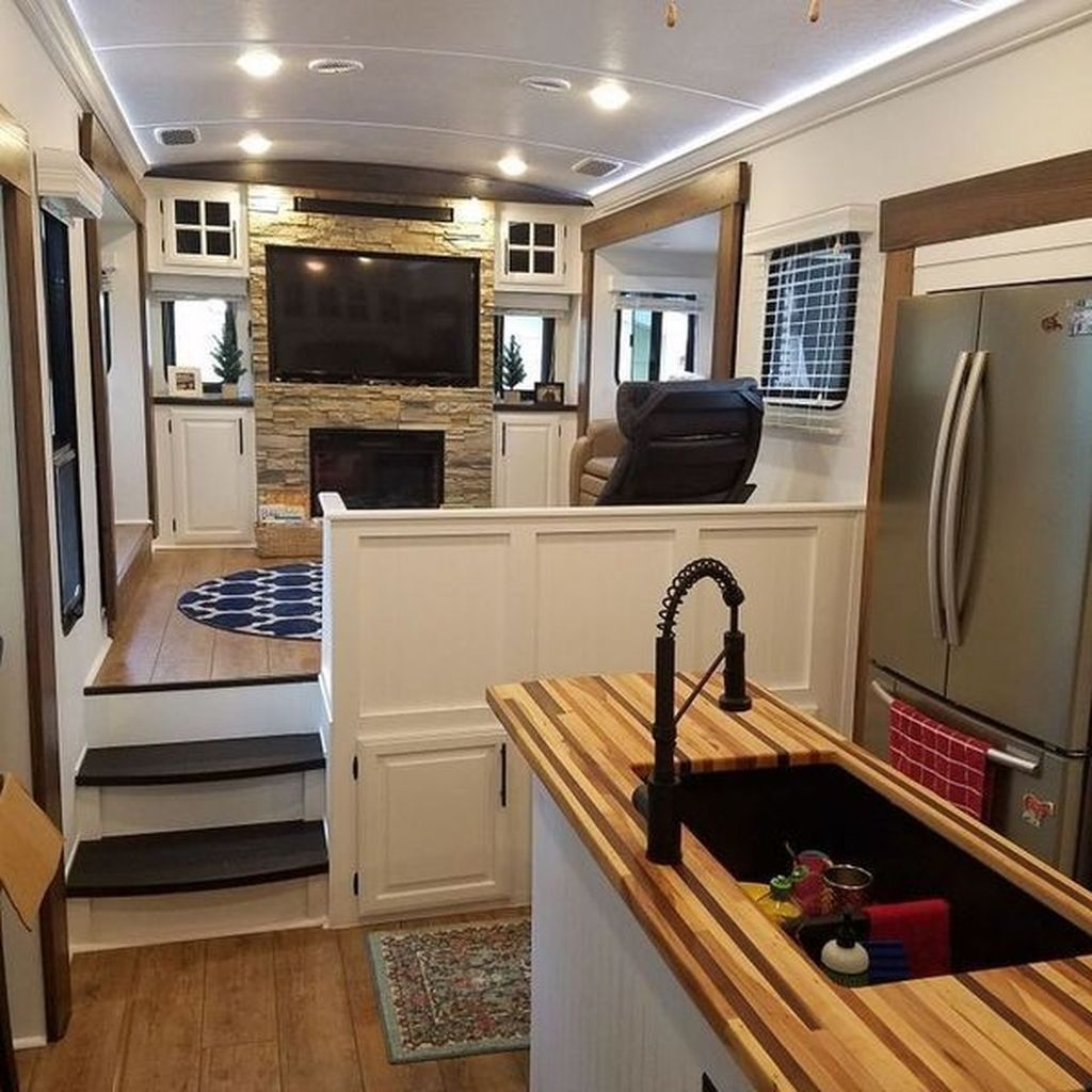 Modern Rv Living And Tips Remodel Ideas To Copy Asap20