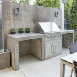 Newest Outdoor Kitchen Decoration Ideas To Make Cozy Kitchen09