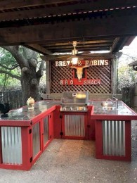 Newest Outdoor Kitchen Decoration Ideas To Make Cozy Kitchen11