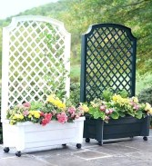 Pretty Privacy Fence Planter Boxes Ideas To Try09