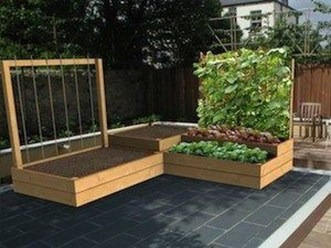 Pretty Privacy Fence Planter Boxes Ideas To Try20