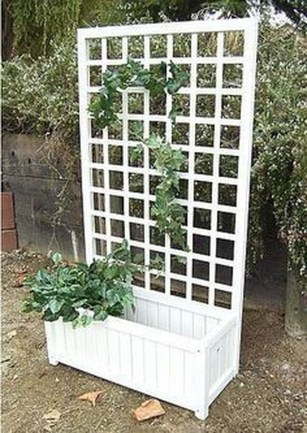 Pretty Privacy Fence Planter Boxes Ideas To Try26