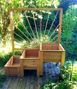 Pretty Privacy Fence Planter Boxes Ideas To Try37