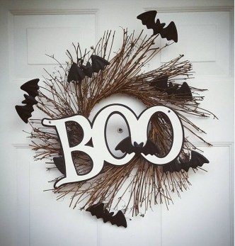 Stunning Diy Halloween Wreaths Design Ideas That Looks Cool07