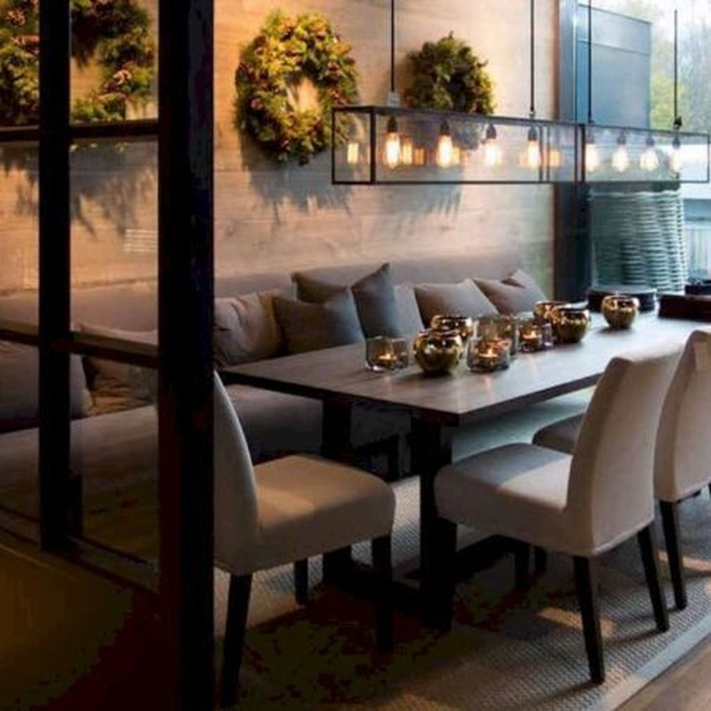 70 Modern Dining Room Ideas For 2019: 20+ Wonderful Contemporary Dining Room Decorating Ideas To