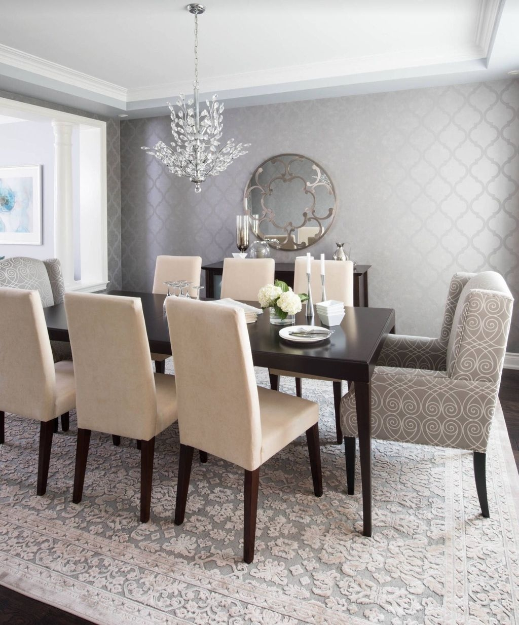Wonderful Contemporary Dining Room Decorating Ideas To Try14