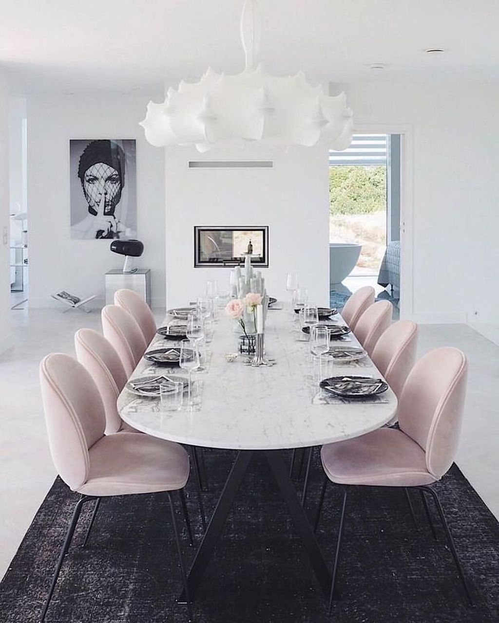 Wonderful Contemporary Dining Room Decorating Ideas To Try34