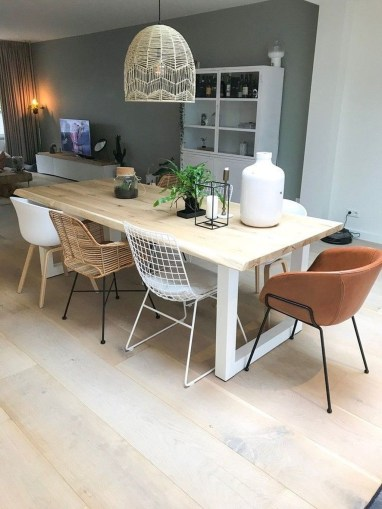 Wonderful Contemporary Dining Room Decorating Ideas To Try38