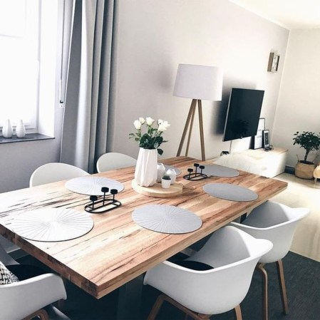 Wonderful Contemporary Dining Room Decorating Ideas To Try39
