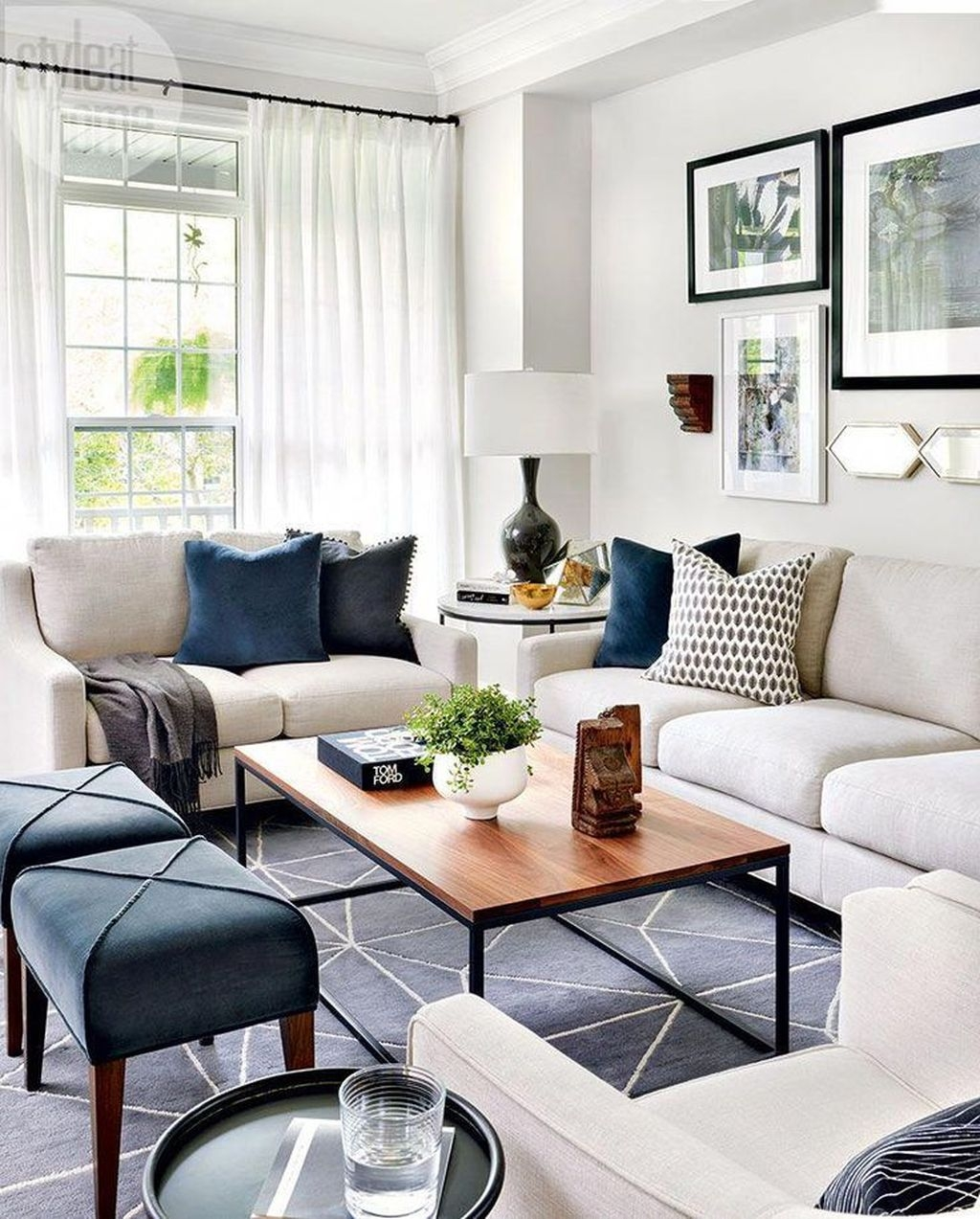 Wonderful Neutral Living Room Design Ideas To Try14