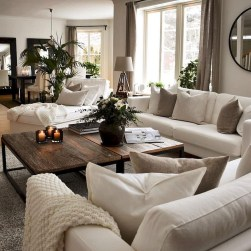 Wonderful Neutral Living Room Design Ideas To Try21