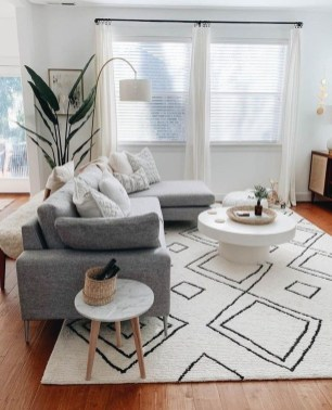 Wonderful Neutral Living Room Design Ideas To Try24