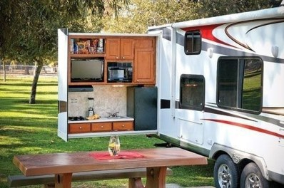 Wonderful Rv Modifications Ideas For Your Street Style11