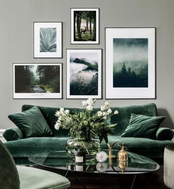 Attractive Living Room Wall Decor Ideas To Copy Asap44