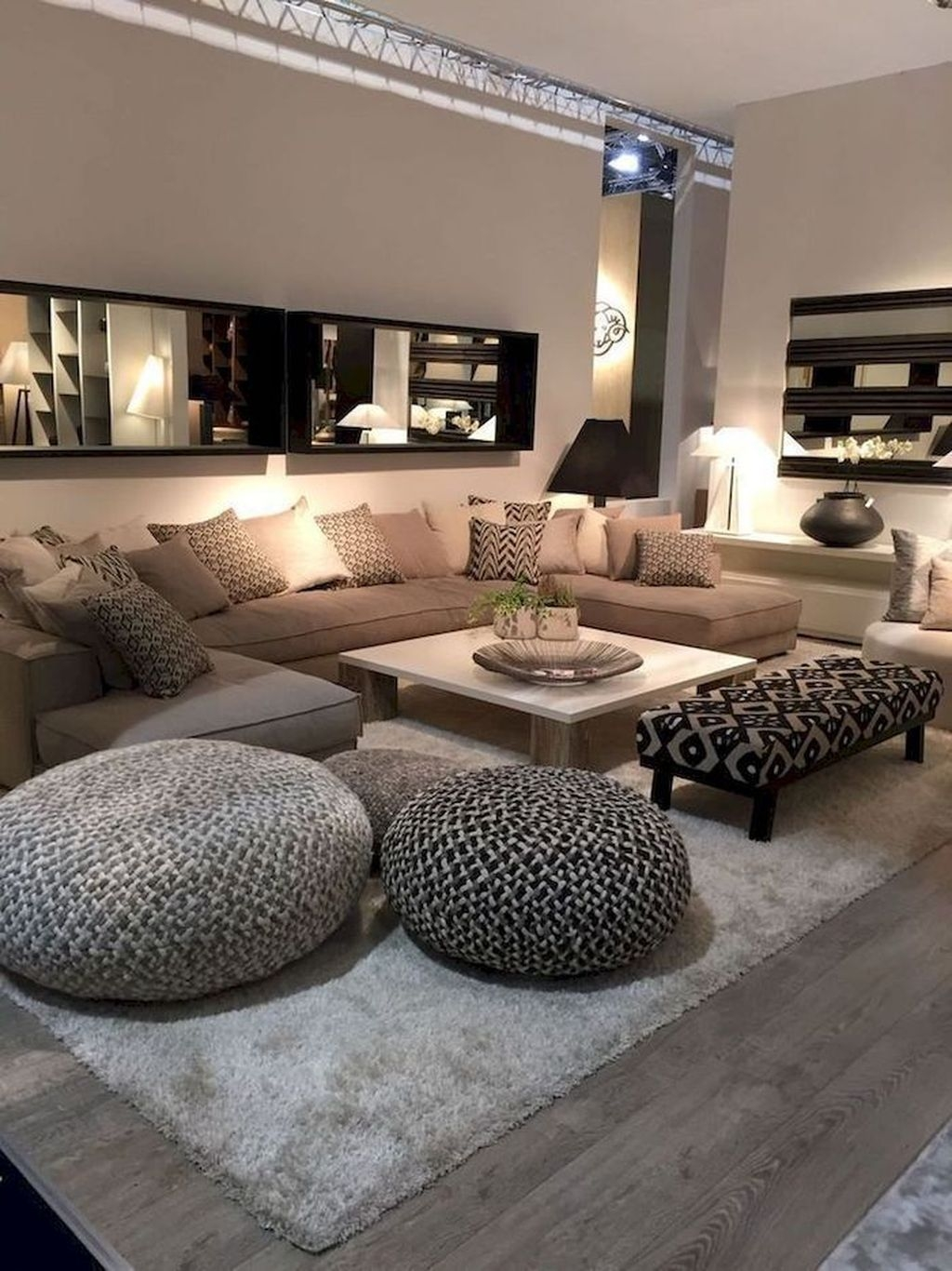 Awesome Living Room Mirrors Design Ideas That Will Admire You19